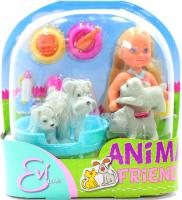 Іграшка Simba лялька Еві з тваринами арт.541910 х6