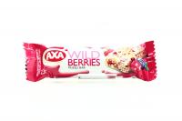 Батончик Axa зерновий з наповн.лісові ягоди 23г х24
