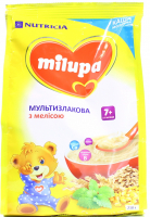 Каша Milupa Nutricia молочна мультизлакова з мелісою 210г х9