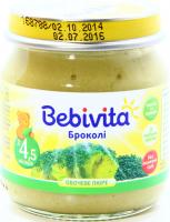 Пюре Bebivita броколі с/б 100г