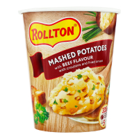 Пюре Роллтон стакан картопляне зі смаком яловичини 55г х12