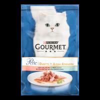 Корм Purina Gourmet лосось сайда  для котів 85г х24