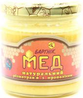 Мед БАРТНІК нат. із прополісом 250г