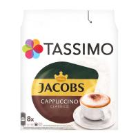 Кава Jacobs Tassimo Cappuccino Classico 260г