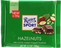 Шоколад Ritter Sport Hazelnuts 100г