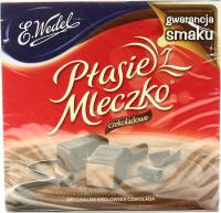 Цукерки E.Wedel Plasie Mleczko шоколадні 380г х24