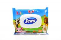 Папір туалетний Zewa Kids moist вологий 42шт х6