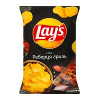 Чіпси Lays смак Реберця гриль 133г