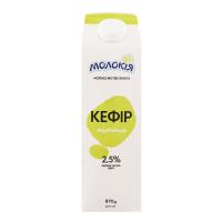Кефір Молокія 2,5% п/п 870г х10