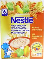 Каша Nestle молочна мультизлаков ябл груша абрикос 200г х8