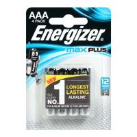 Батарейки Energizer Max Plus  AAA 4шт.