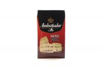 Кава Ambassador Nero смажена мелена 225г х12