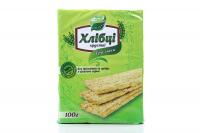 Хлібці Galleti Три злаки без дріжджів та цукру 100г х6