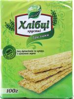 Хлібці Galleti Три злаки без дріжджів та цукру 100г