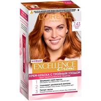 Фарба для волосcя Loreal Exellence 7.43