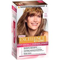 Фарба для волосcя Loreal Exellence 7.1