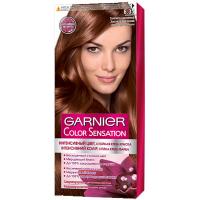 Крем-фарба стійка для волосся Garnier Color Sensation №6.35 Золотисто-Каштановий