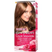 Крем-фарба стійка для волосся Garnier Color Sensation №6.0 Лісовий Горіх