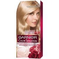 Крем-фарба стійка для волосся Garnier Color Sensation №9.13 Кристальний бежевий світло-русявий