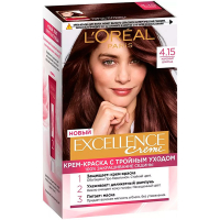 Фарба для волосся LOreal Excellence Creme 4.15