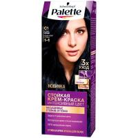 Фарба для волосся Palette Інтенсивний колір C1 1-1 Синьо-чорний