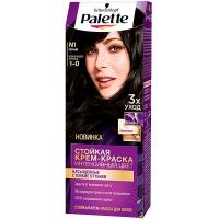 Фарба для волосся Palette Інтенсивний колір N1 1-0 Чорний