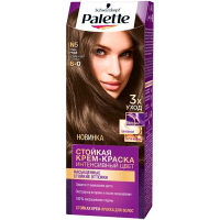 Фарба для волосся Palette Інтенсивний колір N5 6-0 Темно-русявий
