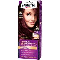 Фарба для волосся Palette Інтенсивний колір RFE3 4-89 Баклажан