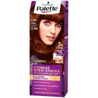 Фарба для волосся Palette LW3 6-68 гарячий шоколад