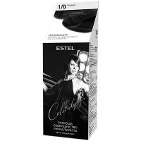 Фарба-догляд для волосся Estel Celebrity 1/0 Чорний