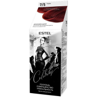 Фарба-догляд для волосся Estel Celebrity 7/5 Рубін