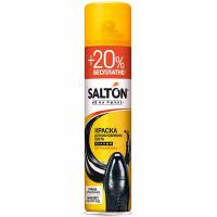 Фарба Salton для гладкої шкіри чорна 300мл
