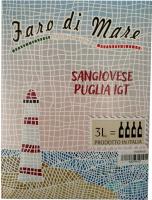 Винo Faro Di Mare IGT Puglia сухе червоне 3л