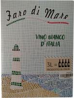 Винo Faro Di Mare Vino Biancoe сухе біле 3л x6