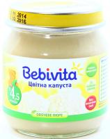 Пюре Bebivita Цвітна капуста 100г х6