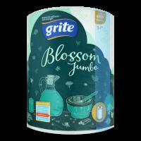 Рушники паперові рулонні Grite Blossom Jumbo 400, 1 шт.