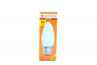 Лампа  свіча 60W E27 мат. ELECTRUM х6
