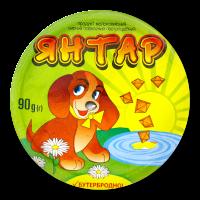 Продукт сирний Янтар плавл. молоковміс. пастопод 60% 90г х6