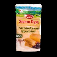 Сир Звенигора Голандський брусковий 50% фасований 200г