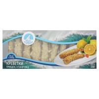 Креветки Polar Seafood чищені з хвостом в паніровці 180г