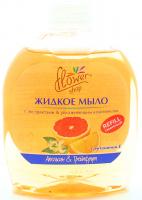 Мило Flower Shop рідке Апельсин&Грейпфрут 300мл х6