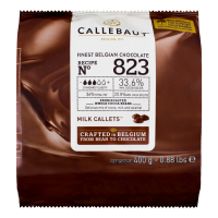 Шоколад Callebaut молочний 33,6% 400г х7
