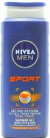 Гель для душу Nivea Men Sport 3в1 з мінералами, 500 мл