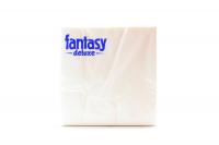 Серветки паперові столові Fantasy Deluxe 33*33см Білі, 20 шт.