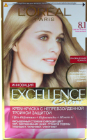 Фарба для волосcя Loreal Excellence 81