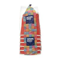 Стакани паперові Week End гофра кольоровий 250мл 6шт. 100425
