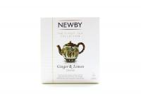 Чай Newby Ginger&Lemon трав`яний 15пак 37,5г х4