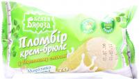 Морозиво Белая Бяроза Пломбір крем-брюле 70г