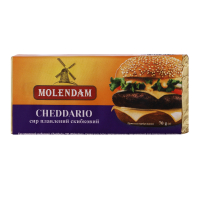 Сир плавлений Molendam Cheddario 70г х24