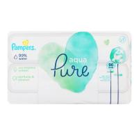 Дитячі серветки вологі гігієнічні Pampers Agua Pure, 96 шт.